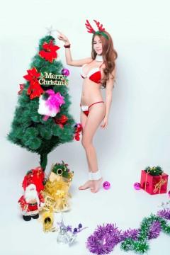 [TuiGirl] 推女郎 2013圣诞福利 模特:李李七七喜喜[12P]