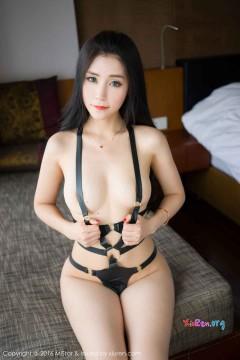 [MiStar魅妍社] 第91期 豪放妖媚女郎小乔Joyi真空无内劲爆室内私拍 60P