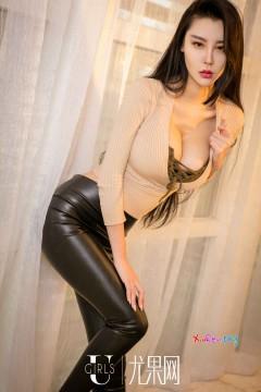 [ugirls_尤果网] 韩系飘逸长腿美女宁然紧身包臀漆皮裤美艳奢华私房照 65P
