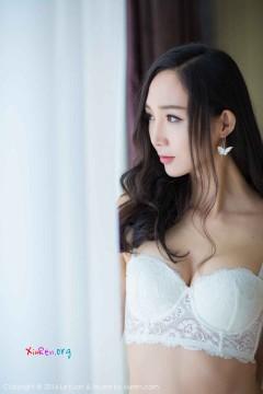 [LeYuan] Vol.009 甜美笑容雅致女郎蓓蓓maggie时髦性感白色内衣私拍照 47P