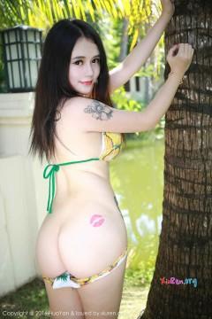 [HuaYan] VOL.006 大胸肉臀美女李雪婷Anna养眼比基尼户外青春泳装写真 50P
