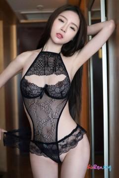 [TuiGirl] 推女郎 第83期 香臀秀乳居家技师梦心月魅力透视黑色内衣性感清晰私房 31P