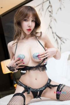 [MiStar魅妍社] 第156期 骨感苗条私房模特曾水色气乳贴性感成人内衣香艳图集 55P