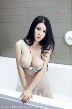 [CANDY] 第12期 究极风韵大奶妹Sukki激情露脸透视情趣内衣浴室私房照 44P