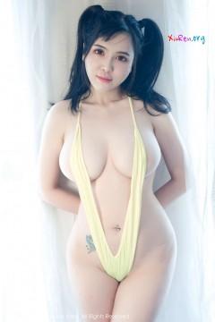 [秀人网XiuRen] N00723 圆润饥渴御姐刘钰儿窒息大波真空情趣成人内衣私房 70P