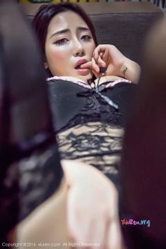 [秀人网XiuRen] N00733 紧致美腿模特兜豆靓Youlina捆绑OL装包臀黑色丝袜情趣写真 54P