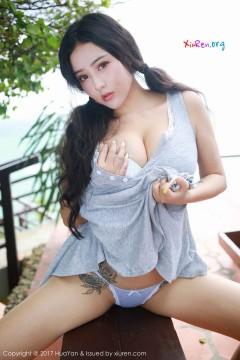 [HuaYan] VOL.039 肥臀白乳秀气嫩妹Manuela玛鲁娜诱人丁字裤户外时尚写真大片 33P