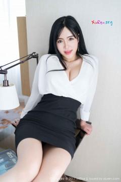 [MiStar魅妍社] 第172期 黑长直风尘韩系女郎刘钰儿包臀OL装动人妩媚私房 55P