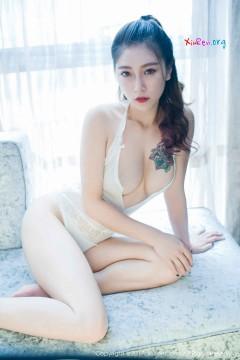 [秀人网XiuRen] N00786 败火私房新人杜花花醉人勾魂酥胸魅力睡裙写真 54P