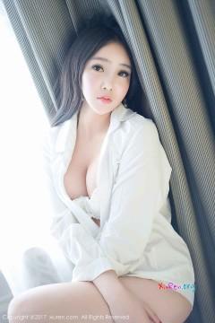 [秀人网XiuRen] N00792 红润勾魂私房新人模特艾弥沁人酥胸白色内衣丽质私拍写真 49P