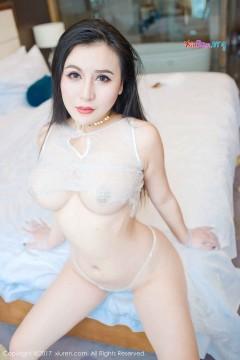 [秀人网XiuRen] N00807 肥硕野性巨乳熟女伊若透视蕾丝内衣妖艳色气写真 47P