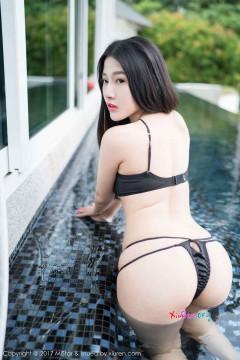 [MiStar魅妍社] 第196期 长发肉感小姐姐陈嘉嘉Tiffany玲珑鼻血乳房秀美比基尼动人外拍 43P