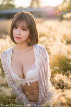 [秀人网XiuRen] N00847 优雅美胸尤物杨晨晨sugar户外动人艺术内衣写真 50P