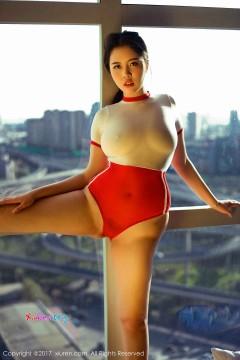 [秀人网XiuRen] N00872 圆润肥硕外围女郎飞的小虎牙紧身露骨体操服豪乳肥臀香艳写真 52P