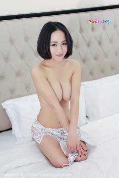 [YouWu] VOL.072 媚眼短发御姐LULU小璐璐吸睛挺拔乳房热辣人体写真 45P