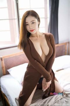 [MiStar魅妍社] 第201期 霸气酥胸御姐雪千紫养眼深V长裙艺术人像组图 40P