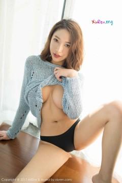 [MiStar魅妍社] 第204期 匀称商务模特栗子Riz羞耻逆天大波奔放动人半裸私房 40P