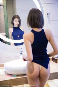 [秀人网XiuRen] N00919 娇艳骨感辣妹杨晨晨sugar浴室火热蕾丝内衣组图 54P