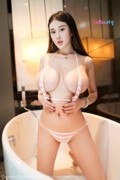 [MiStar魅妍社] 第211期 霸气豪乳艺术模特易阳Silvia喷血泳装浴室写真 30P