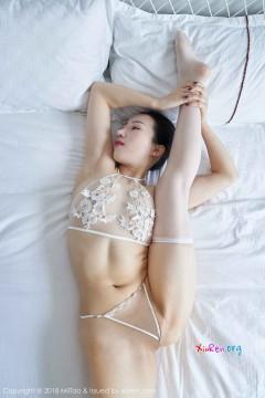 [MiiTao蜜桃社] Vol.098 典雅酥软一字马模特琉璃lily透视内衣性感私房 62P