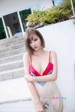 [秀人网XiuRen] N01027 淡妆俏丽美妞杨晨晨sugar半透性感内裤极品诱人外拍 50P