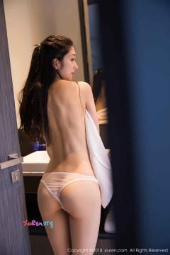 [秀人网XiuRen] N01099 瓜子脸脱俗秀气靓妹小热巴浴室湿身大尺度美女写真 60P