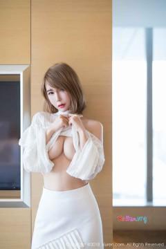 [秀人网XiuRen] N01121 短发时髦女模特楚恬Olivia极品诱惑桃乳美艳制服写真 57P