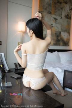 [秀人网XiuRen] N01194 黑长直贫乳嫩模Angela小热巴蕾丝情趣内衣惹火酒店私房 41P