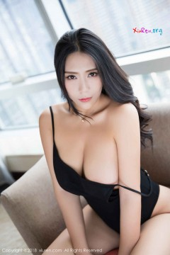 [秀人网XiuRen] N01219 成熟知性大姐姐安可儿治愈黑色连体泳衣风情酒店写真 66P