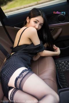 [秀人网XiuRen] N01262 气质时髦骨感辣妹Angela喜欢猫极品黑丝制服户外养眼写真 75P