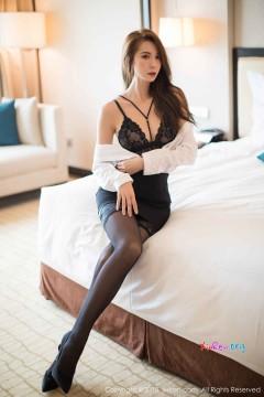 [秀人网XiuRen] N01290 高挑骨感御姐carry性感包臀短裙吊带丝袜极品魅惑蕾丝内衣写真 66P