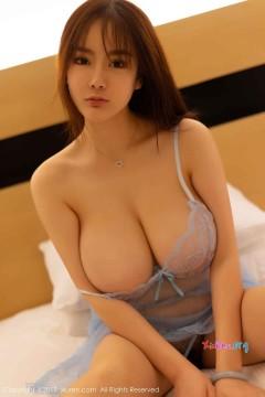 [秀人网XiuRen] N01319 惊艳天然巨乳美媛易阳Silvia喷血抢眼双峰优雅清凉情趣写真 45P