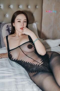 [秀人网XiuRen] N01413 抢眼肥臀美媛易阳Silvia黑丝无内裹体秀雅情趣写真 63P