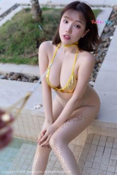 [秀人网XiuRen] N01389 桃乳丰满女郎黄楽然无内丝袜户外极致诱惑艺术写真 45P
