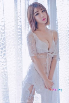 [秀人网XiuRen] N01406 新人私房女郎凌萍儿慵懒婉约白色内衣室内写真 47P