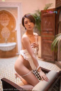 [秀人网XiuRen] N01455 短发纯情秀气美媛冯木木LRIS喷血魅惑半裸艺术人体私房 48P
