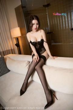[秀人网XiuRen] N01469 秀丽美腿女郎绯月樱Cherry高跟黑丝情趣商务酒店写真 52P