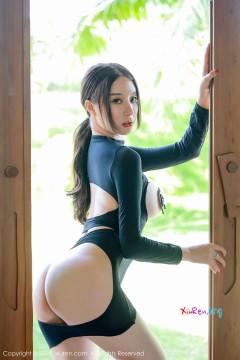 [秀人网XiuRen] N01563 圆润翘臀长发模特筱慧秀美诱惑身材养眼艺术私房 45P