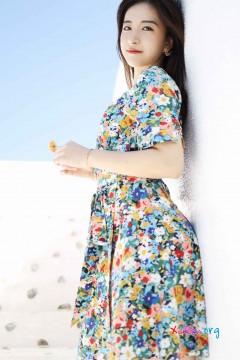[秀人网XiuRen] N01641 动人清新写真新人艺儿伢哟户外长裙婉约纯情图集 59P