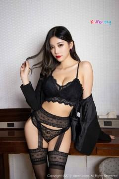 [秀人网XiuRen] N01633 魅惑丝腿小姐姐杨晨晨sugar酒店情趣吊带黑丝艳丽迷人写真 72P