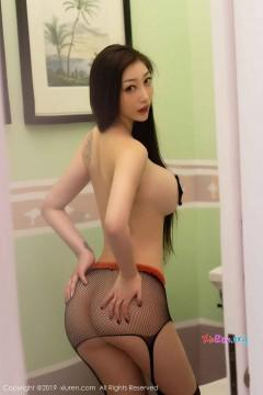 [秀人网XiuRen] N01625 巨乳桃尻御姐妲己_Toxic室内渔网丝袜魅惑全裸私房 54P