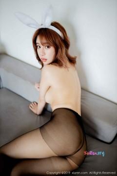 [秀人网XiuRen] N01654 花臂多水肉臀女模糯米NM无内黑丝人体艺术商务私拍 39P