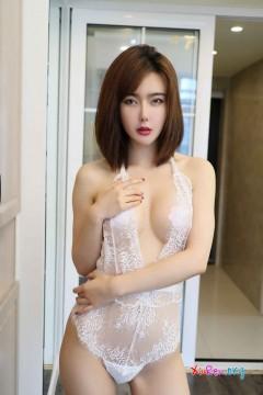 [秀人网XiuRen] N01632 电眼韩系艺术模特Yomi悠蜜居家诱惑性感内衣喷血写真 40P