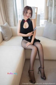 [秀人网XiuRen] N01663 诱惑桃乳短发宝贝潘琳琳ber开叉抢眼旗袍败火情趣丝袜写真 42P