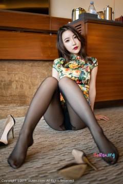 [秀人网XiuRen] N01727 精致开朗大姐姐绯月樱Cherry吸睛修长黑丝美腿紧身旗袍风情写真 87P