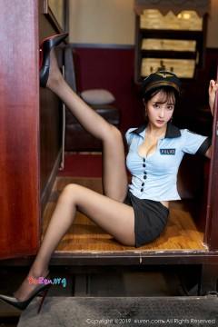 [秀人网XiuRen] N01811 开朗小魔女Betty林子欣垂涎性感美腿惹火制服情趣私拍 60P