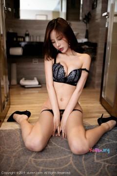 [秀人网XiuRen] N01820 野性魅力高挑宝贝陈小喵浴室撩人蕾丝内衣情趣私拍 64P