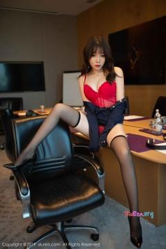 [秀人网XiuRen] N01839 肥美多水秘书芝芝Booty诱人吸睛红色蕾丝内裤情趣福利艺术私拍 71P
