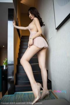 [秀人网XiuRen] N01849 清凉火腿美媛芝芝Booty时尚诱惑内衣玲珑艺术私房 60P