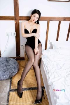 [秀人网XiuRen] N01858 九头身肥尻圆润小仙女Angela小热巴情趣连体黑丝典雅艺术私房 61P